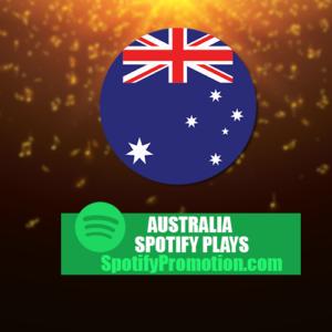Buy Australia Spotify Plays