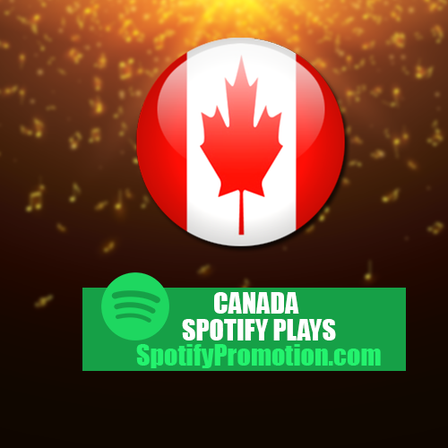 Canada Spotify Plays Promotion