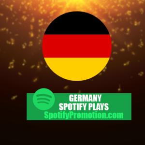 germany spotify plays