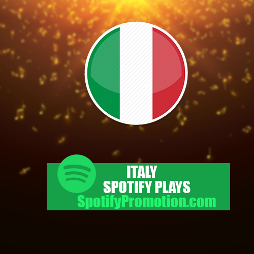 Italy spotify plays