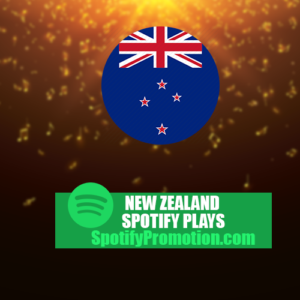 New Zealand spotify plays