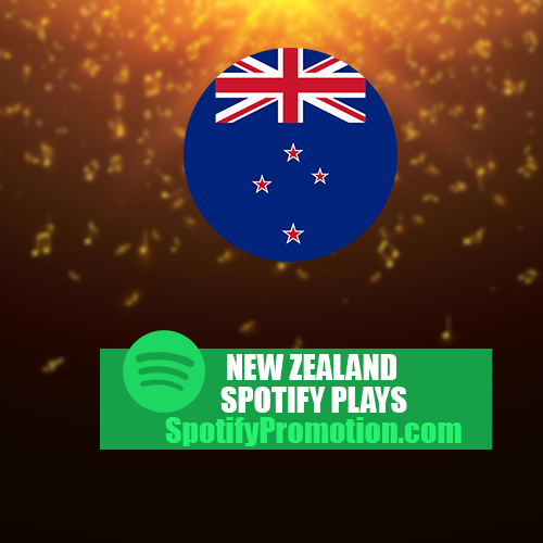 New Zealand spotify plays