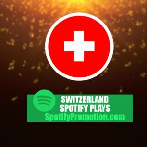 Switzerland spotify plays