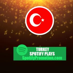Turkey Spotify Plays