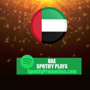 UAE Spotify plays