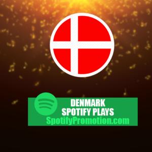 Buy denmark spotify plays and streams