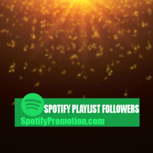 spotify playlist followers promotion