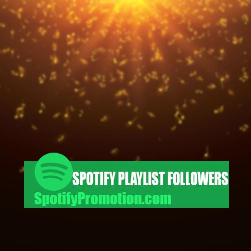 spotify playlist followers promotion
