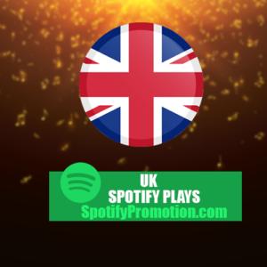 uk spotify plays